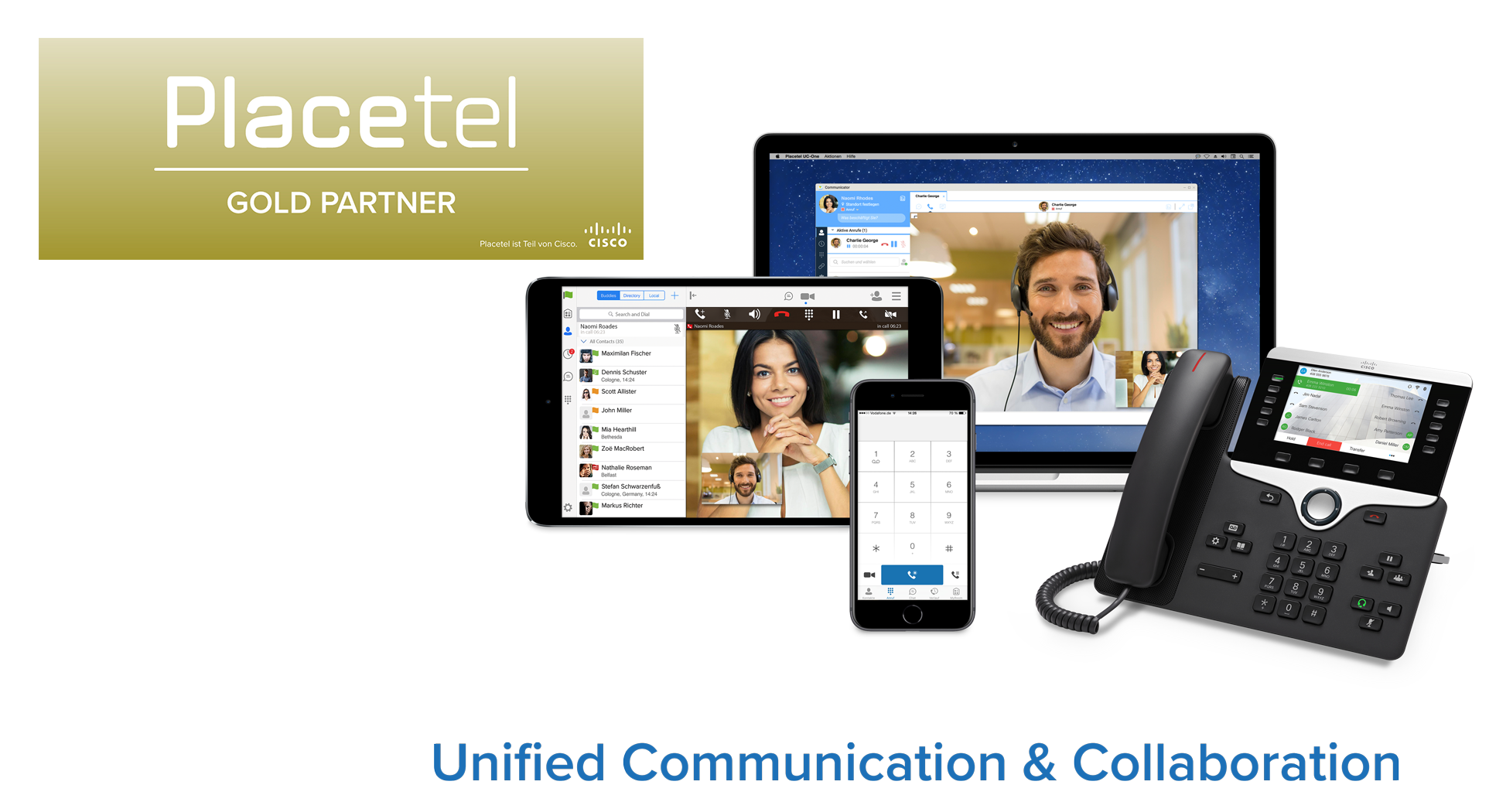 placetel lösungen - softphones, Mobile Apps, ip telefone